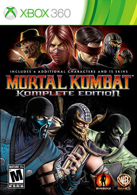 Mortal Kombat: Komplete Edition [FREEBOOT/ENG]