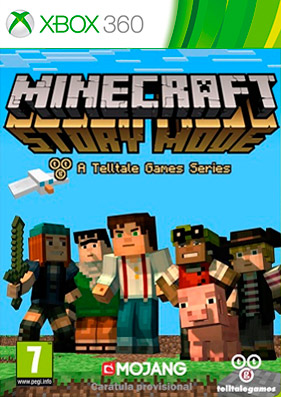 Minecraft Story Mode: A Telltale Games Series [EP1-4] (XBLA/RUS)