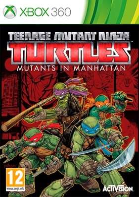 Teenage Mutant Ninja Turtles: Mutants in Manhattan [REGION FREE/ENG] (LT+3.0)