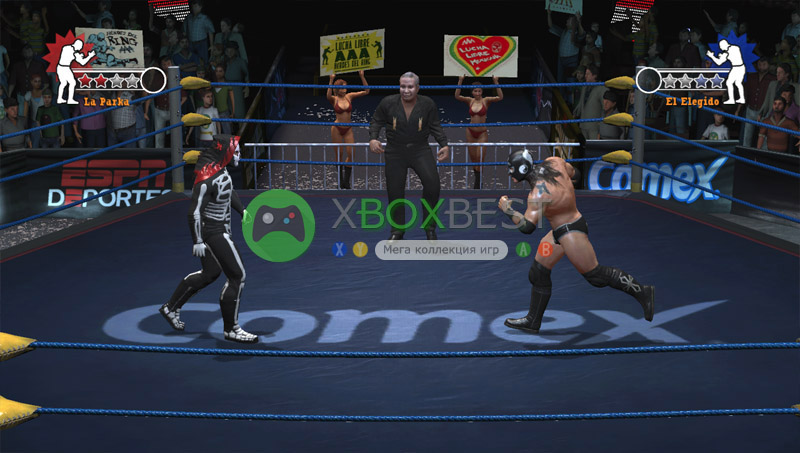 Lucha Libre AAA: Hroes del Ring [FREEBOOT/ENG]