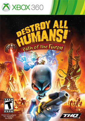 Destroy All Humans! Path of the Furon [FREEBOOT/ENG]
