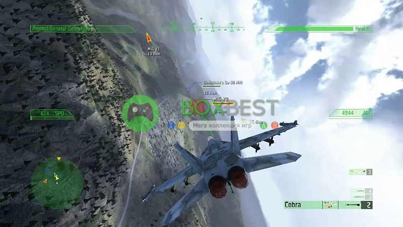 JASF: Jane's Advanced Strike Fighters [PAL/RUS]