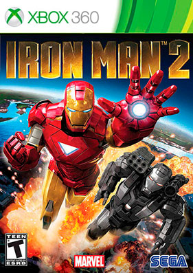 Iron Man 2 The Video Game [REGION FREE/RUS]