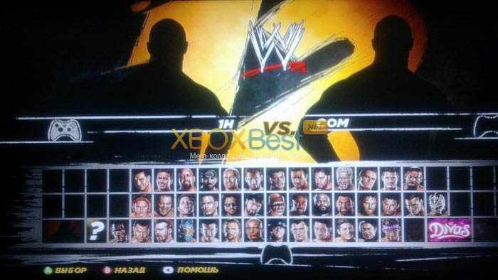 WWE 12 Peoples Edition + DLC + TU [JTAG/RUS]