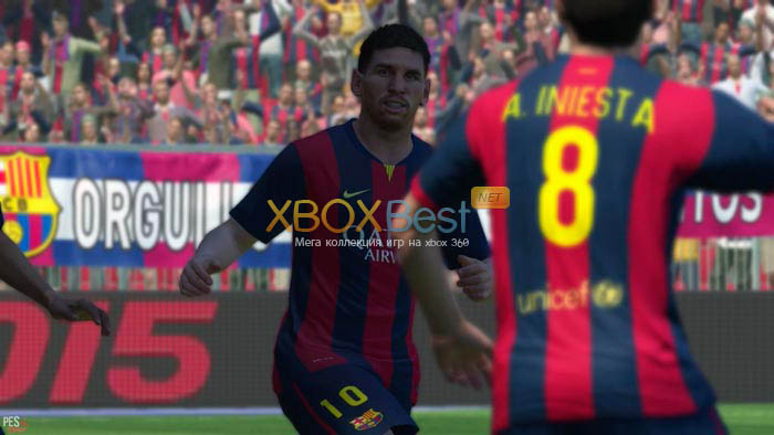 Pro Evolution Soccer 2015 / PES 2015 [GOD/RUS]