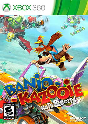 Banjo-Kazooie. Nuts and Bolts + DLC + TU [JTAG/RUSSOUND]