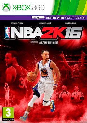 NBA 2K16 [REGION FREE/GOD/ENG]