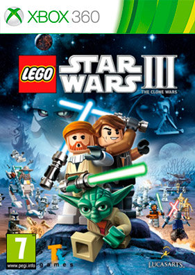 LEGO Star Wars 3: The Clone Wars [REGION FREE/RUS]