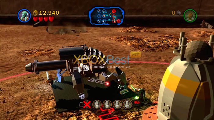 LEGO Star Wars 3: The Clone Wars [REGION FREE/GOD/RUS]