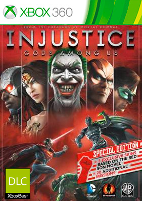 Injustice: Gods Among Us [DLC/GOD/RUS]