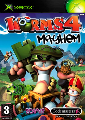 Worms 4 - Mayhem [RUS/PAL]