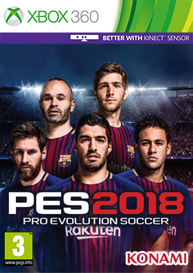 Pro Evolution Soccer / PES 2018 [GOD/FREEBOOT/RUS]