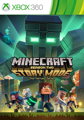 Minecraft: Story Mode - Season Two - The Complete Adventure [XBLA/FREEBOOT/RUS]