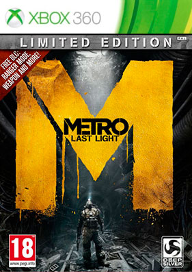 Metro: Last Light - Limited Edition [REGION FREE/RUSSOUND] (LT+3.0)