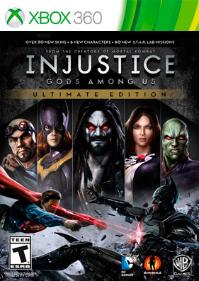 Скачать торрент Injustice: Gods Among Us - Ultimate Edition [REGION FREE/RUS] (LT+3.0) на xbox 360 без регистрации