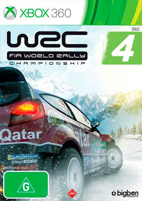WRC: FIA World Rally Championship 4 [PAL/ENG] (LT+3.0)