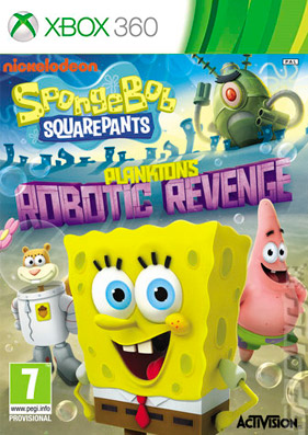 SpongeBob SquarePants: Plankton's Robotic Revenge [PAL/RUSSOUND]